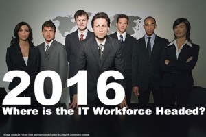 2016, Where is the IT Workforce Headed?
